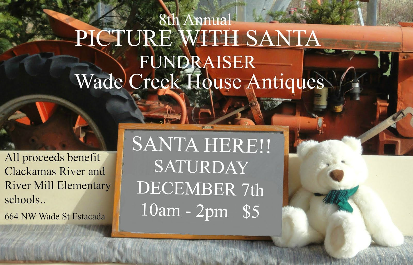 PICTURE WITH SANTA FUNDRAISER