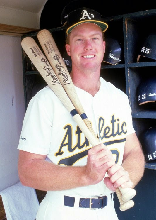 the life and sports career of mark mcgwire Special guest jerry crasnick of espn sheds some light on the second career of slugger mark mcgwire sports fans have.
