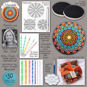 Mandala Stone Dotting Kit