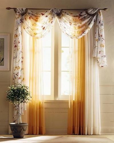 Disenyoss decoracion diferentes tipos de cortinas para - Modelos cortinas salon ...