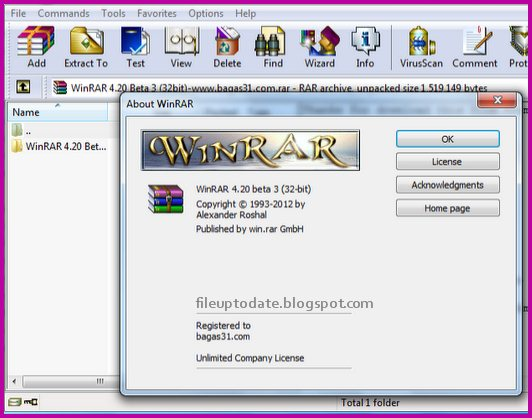 Latest winRAR Free Download