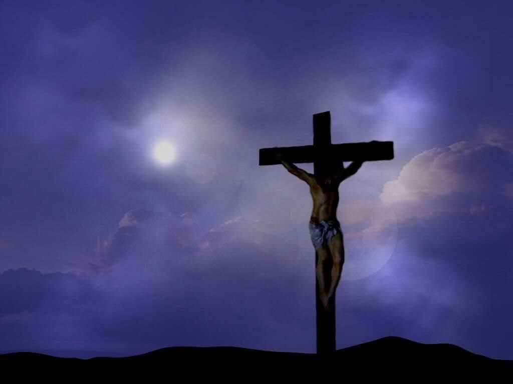isus krist na križu uskrs pozadina za desktop za download klikni na