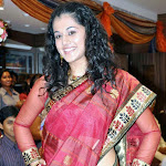 Taapsee Launch Sri Palam Saree Showroom Stills