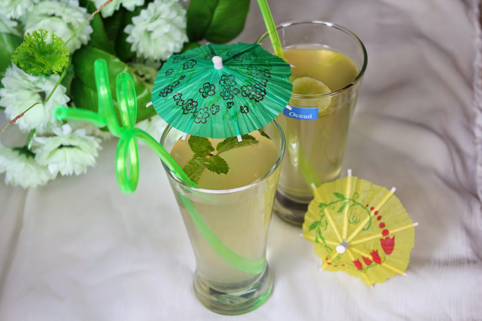 Easy mint lemonade