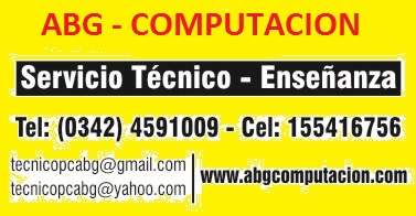 A B G - COMPUTACION  / TODO TECNOLOGIA 