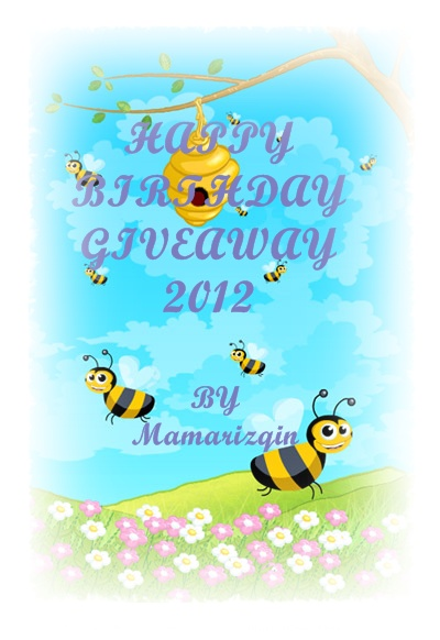 HAPPY BIRTHDAY GIVEAWAY 2012
