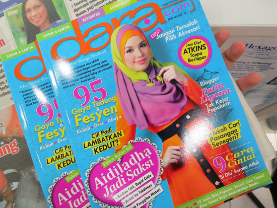 Blogger cun jadi penghias cover majalah