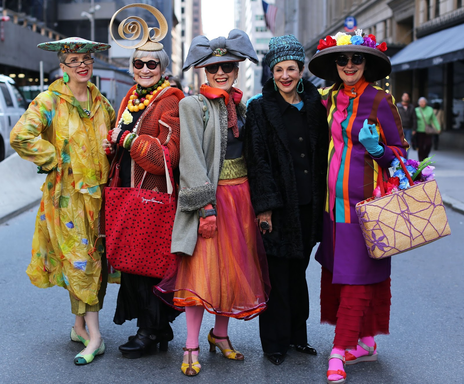 Streetstyle cực chất của những fashionista bô lão ảnh 11