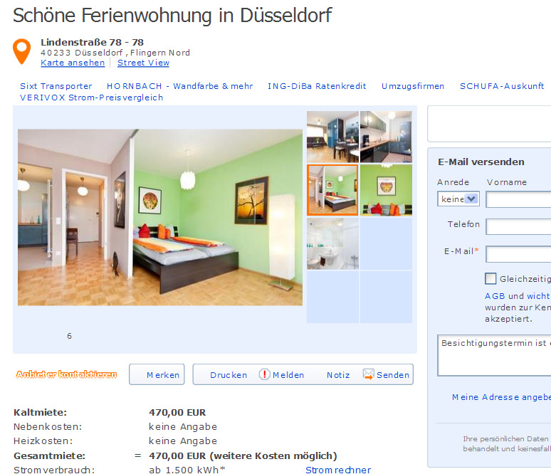 middendorfstra e 3 44137 dortmund mitte gegen wohnungsbetrug against rental scammers. Black Bedroom Furniture Sets. Home Design Ideas