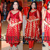 Neha Janpandit in Red Salwar