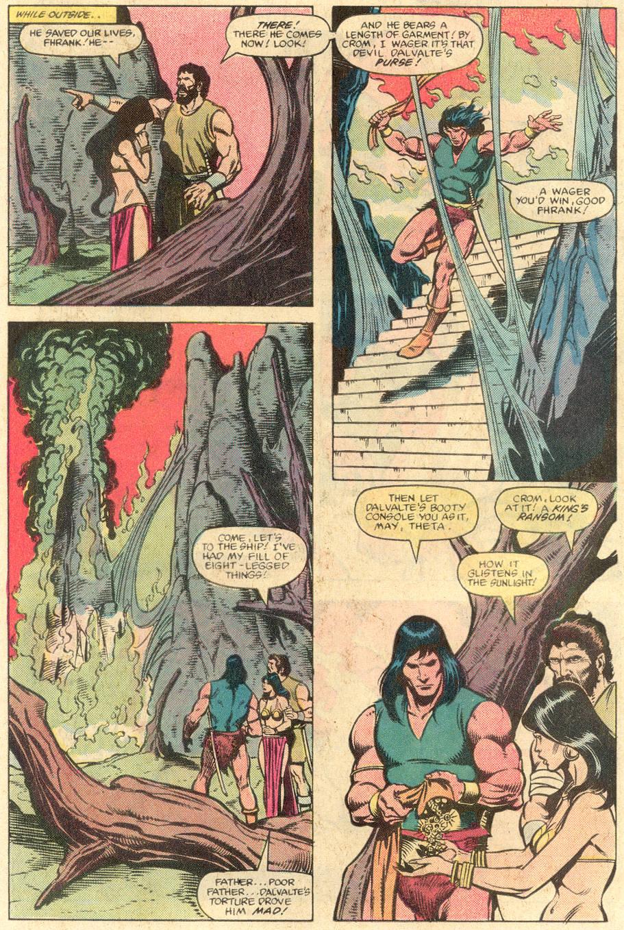 Conan the Barbarian (1970) Issue #141 #153 - English 12