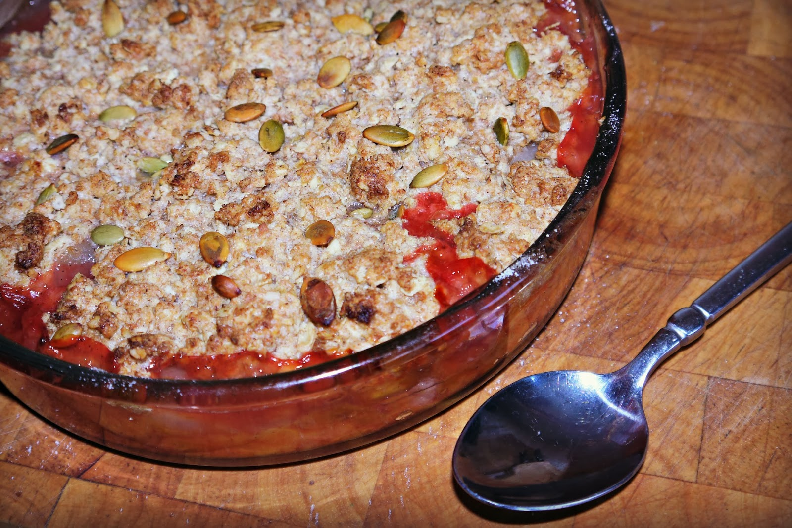 Inside the Wendy House: Vegan Fruit Crumble Recipe