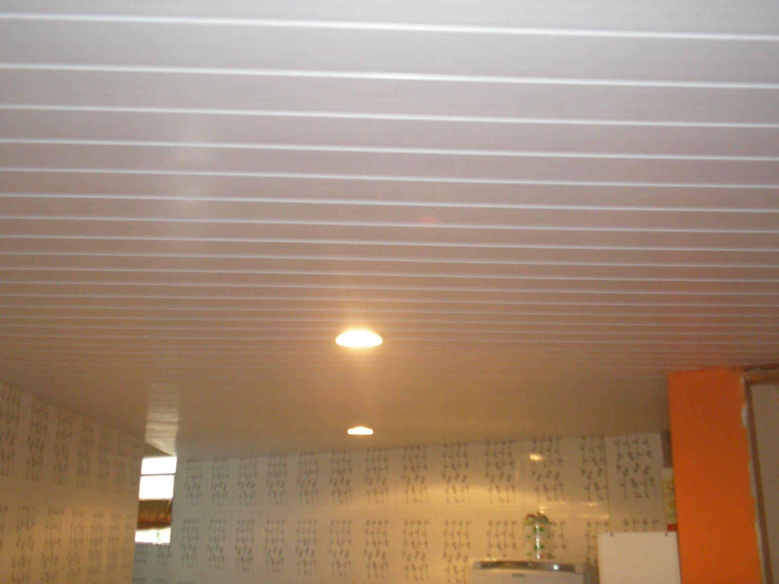 ... Aluminium: Rebaixamento de teto em PVC