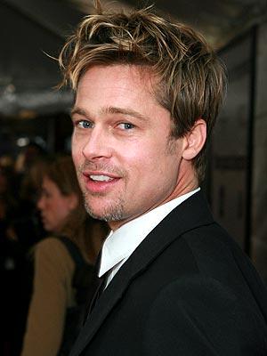 Brad Pitt 2011 Hair
