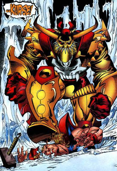 Kurse (Marvel Comics) Character Review