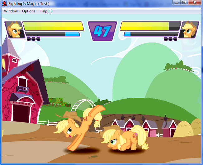 Equestria Daily - MLP Stuff!: Pony Fighting Game