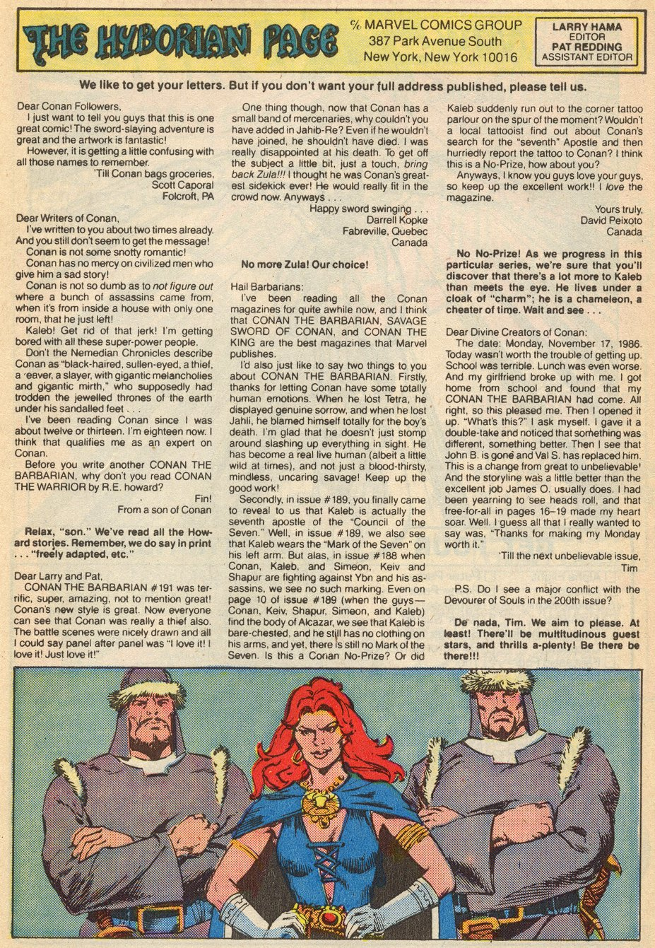 Conan the Barbarian (1970) Issue #195 #207 - English 27
