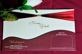 Contoh Desain Undangan Pernikahan Cantik & Unik