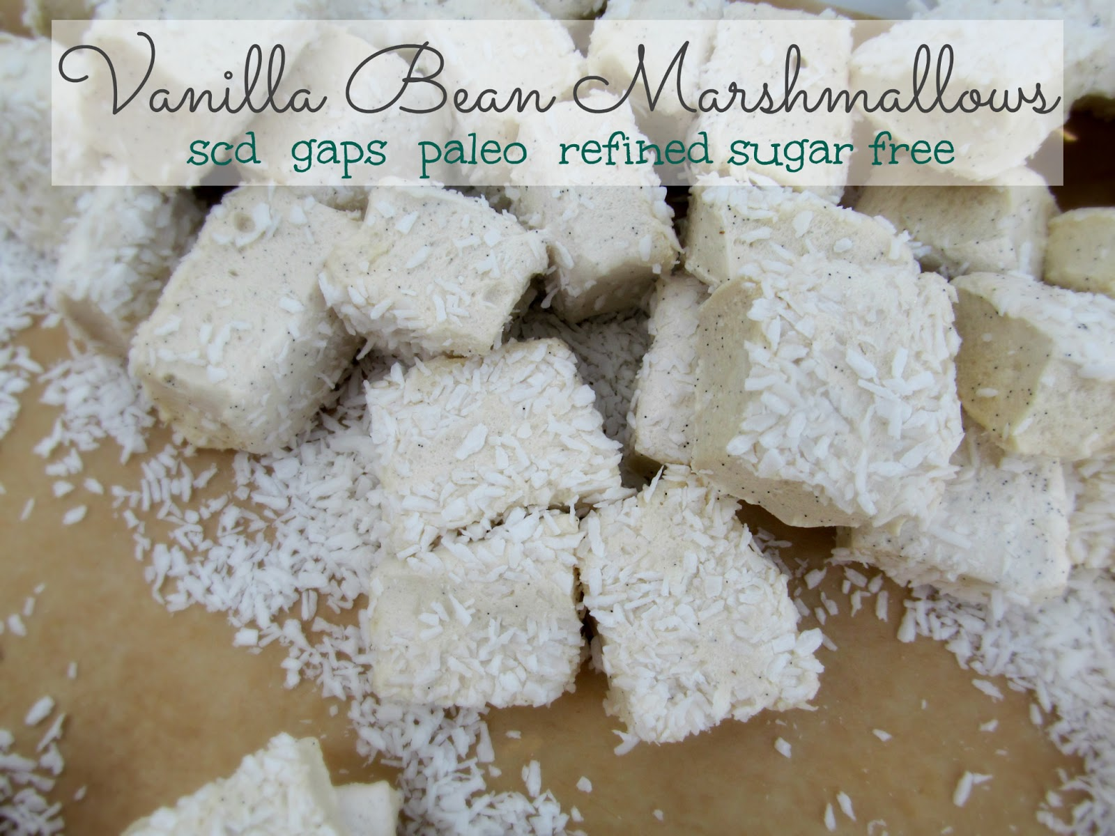 The post for Vanilla Bean Marshmallows has been moved to my new site ...