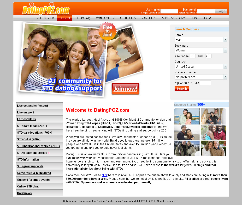 hiv dating websites free