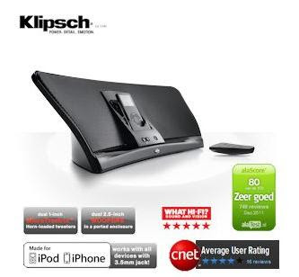 MP3-Player-Dockingstation Klipsch iGroove HG bei iBood für 75,90 Euro