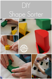 DIY Shape Sorter from Kids Activities Blog