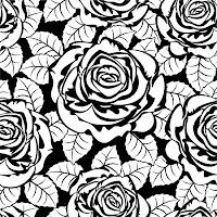 Фон бесшовный розы.