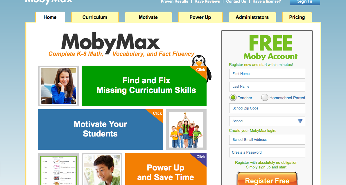 Mobymax.com Sign In
