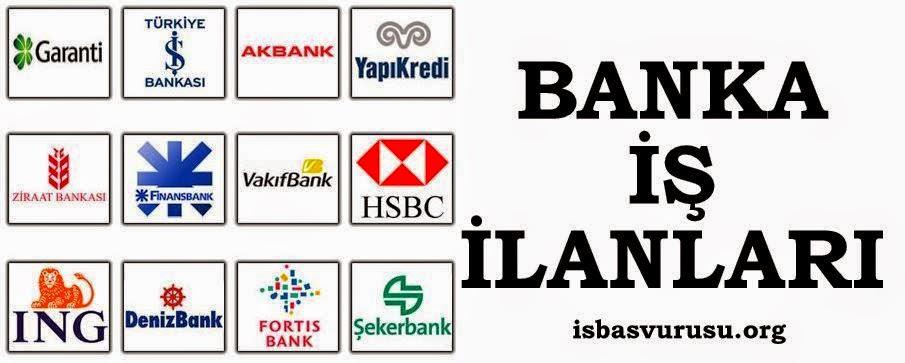 bankada çalışmak
