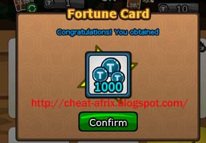 Tips Fortune Card