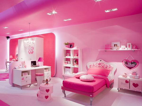 Dormitorios de barbie para ni as dormitorios con estilo for Recamaras rosas
