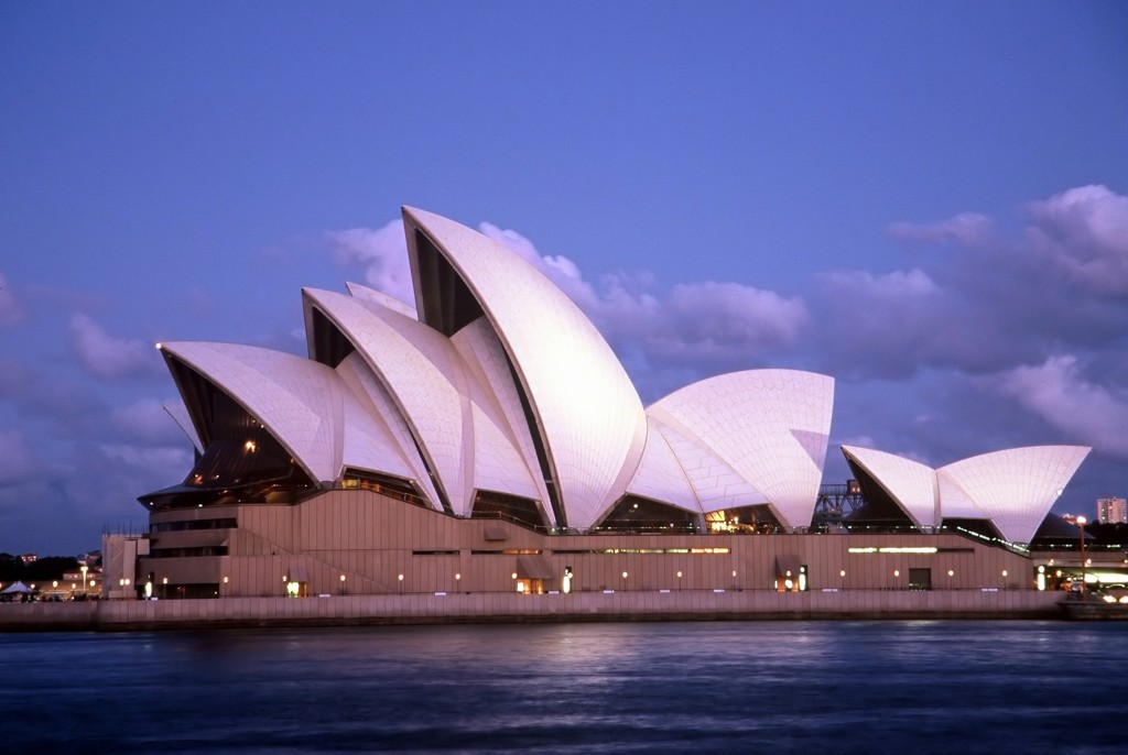 Man made structures sydney opera house for Sydney opera housse