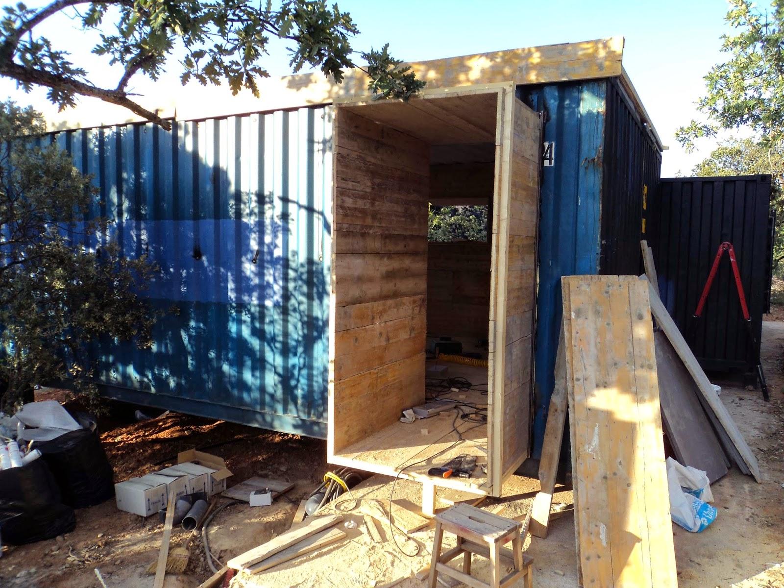 Autoconstrucci n c mo transformar un contenedor 2 parte - Casas container precio ...