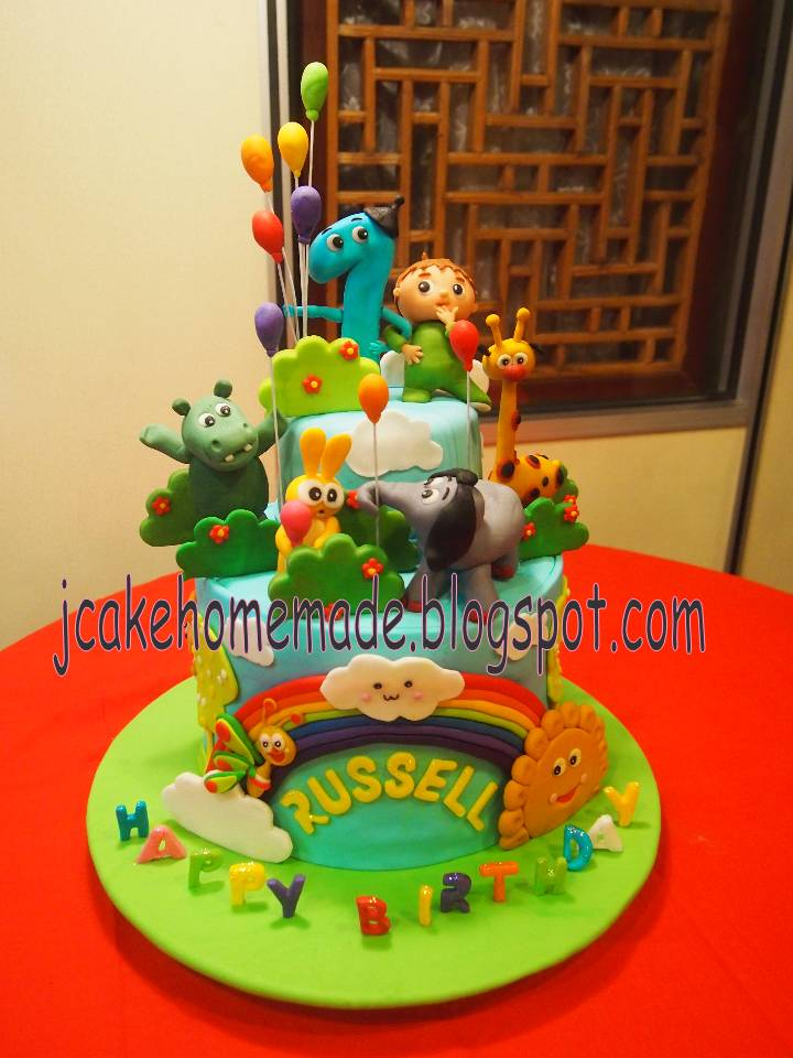 Jcakehomemade: Baby TV theme birthday cake
