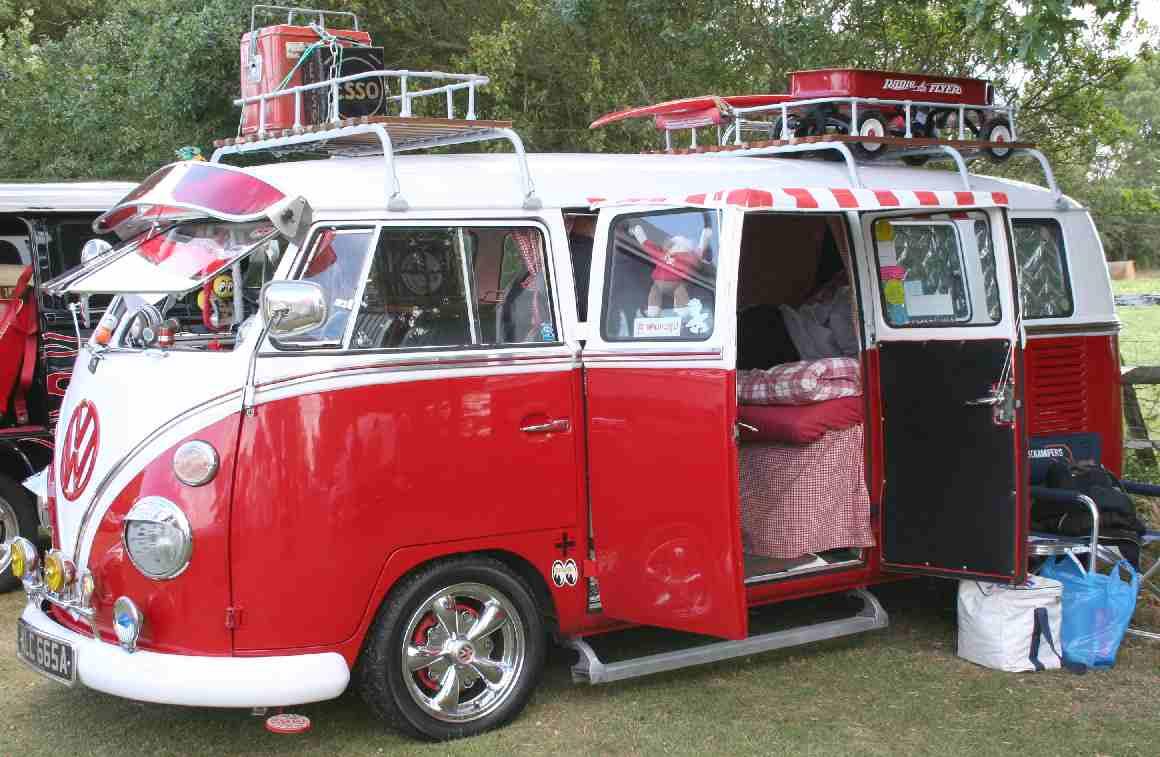 Vw Camper Vans Rentals Vacations In The County Of Devon