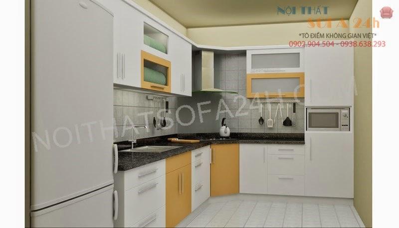 Tủ bếp TB041