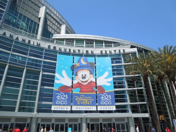 Disney D23 Expo 2013 Anaheim Convention Center