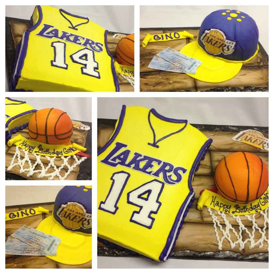 Basketball Edible Cake Images : Leslie s Cool Cakes from Stan s Northfield Bakery: May 2013