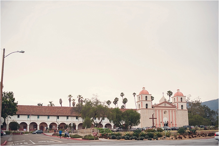 Old Mission Santa Barbara Wedding Ceremony | thesocalbride.com