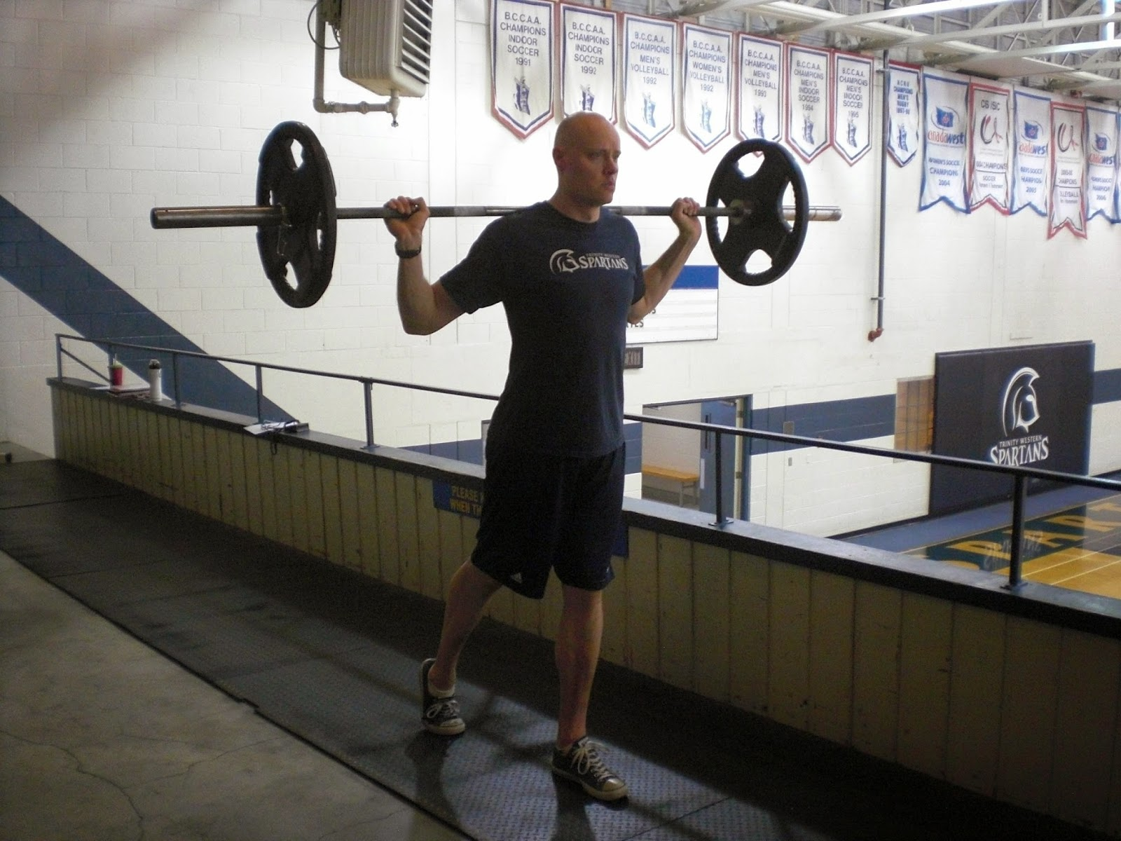 Note All Of These Walking Barbell Variations Means You Will Be Moving With A 7 Foot Long Bar Sure Have The E To Do This Safely Without Ping