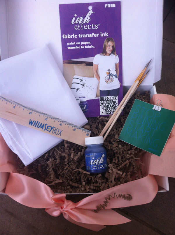 Whimsey Box - Monthly Craft Subscription Box Review - September 2012
