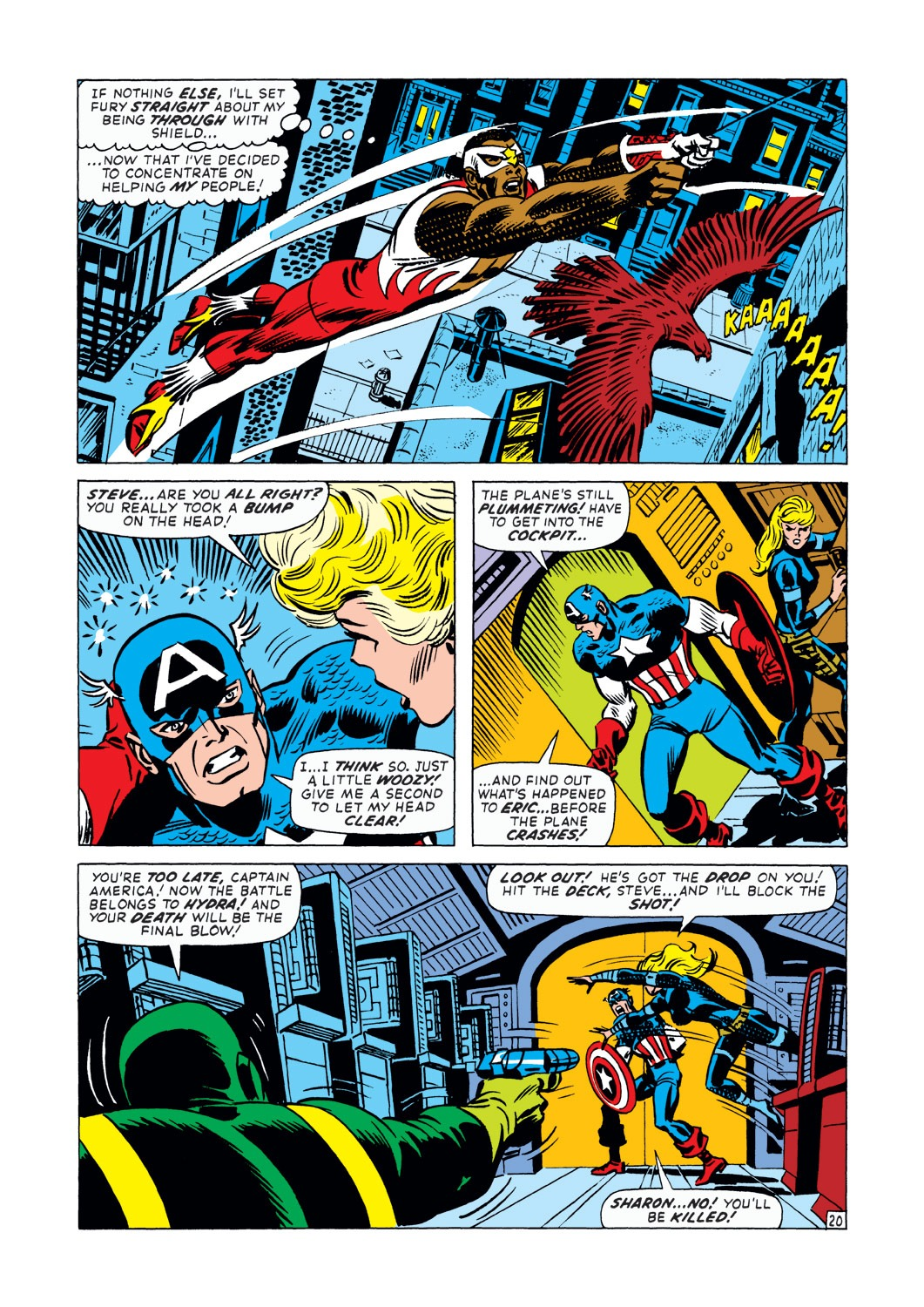 Captain America (1968) Issue #145 #59 - English 21