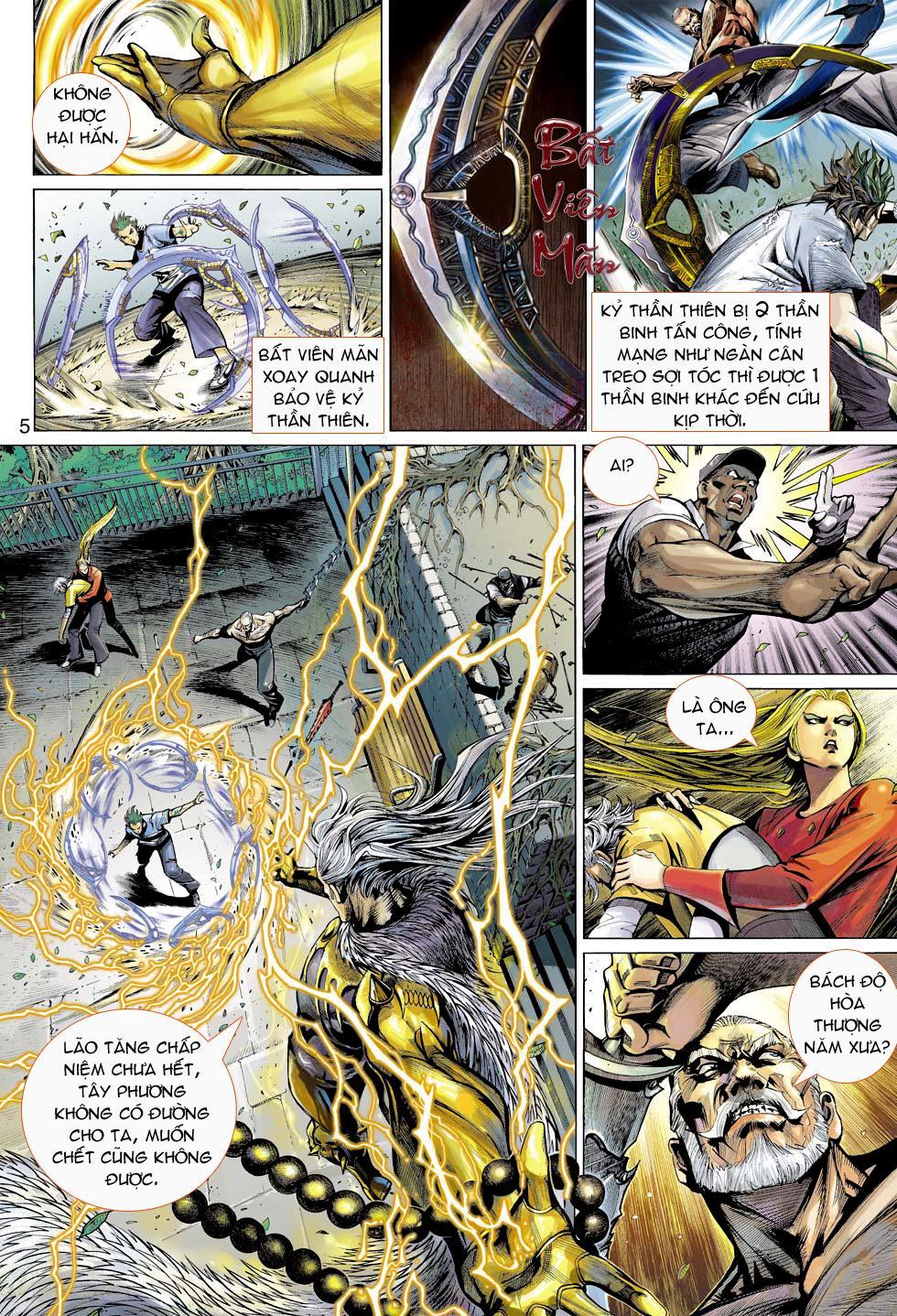 Thần Binh 4 chap 16 - Trang 5