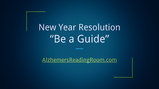 New Year Resolution for Caregivers Be a Guide