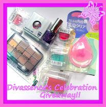 Divassence's Celebrations Giveaway!