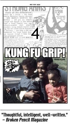Kung Fu Grip #4: things in life (2010), 28-pages