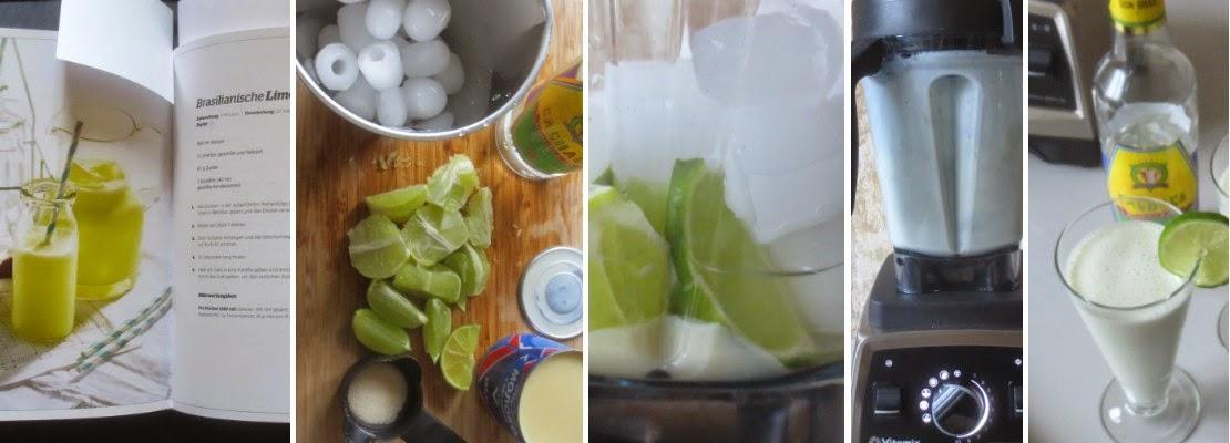 Zubereitung Brasilianische Limonade mit Cachaça
