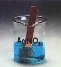 reaksi redoks logam tembaga dan perak nitrat