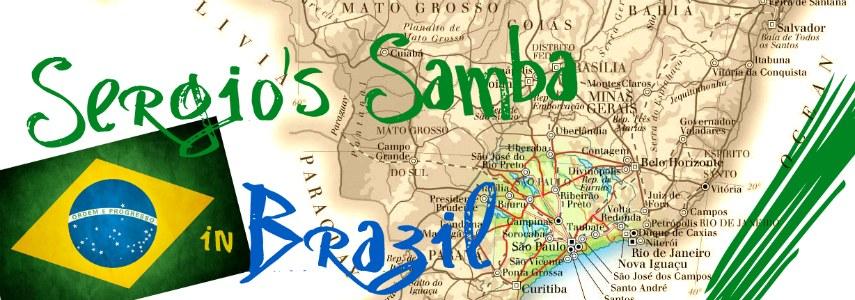 Sergio's Samba through Brazil