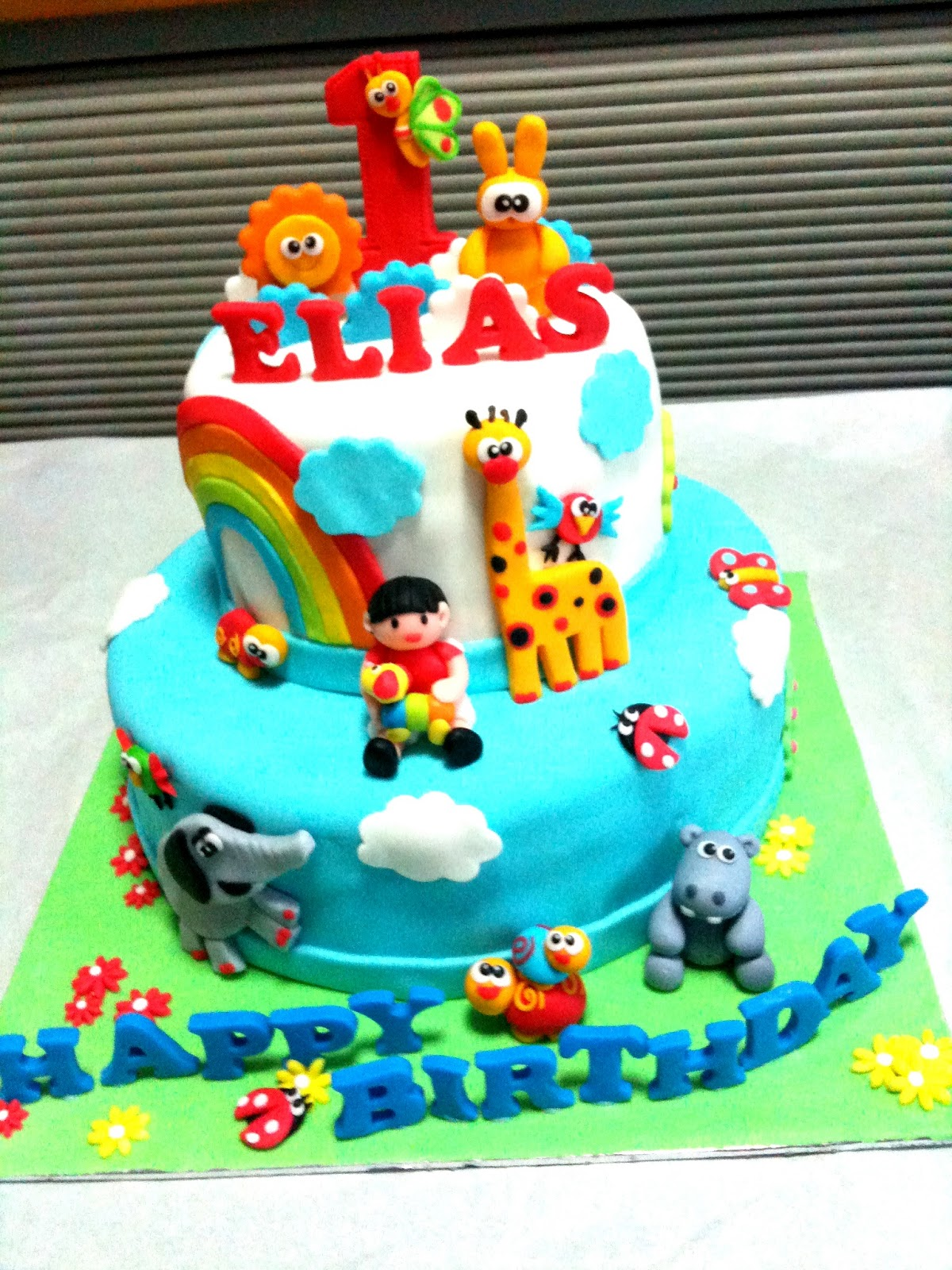 Oven Creations: Happy 1st Birthday Elias